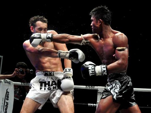 Техника ударов в тайском боксе