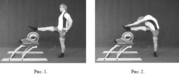 упражнения голени и бедра