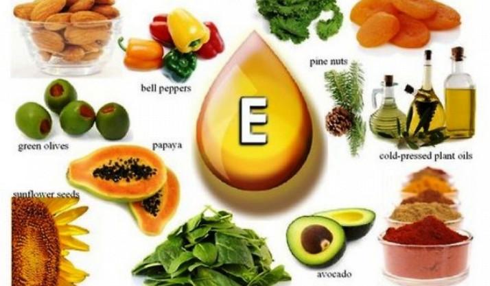 Витамин Е в продуктах питания