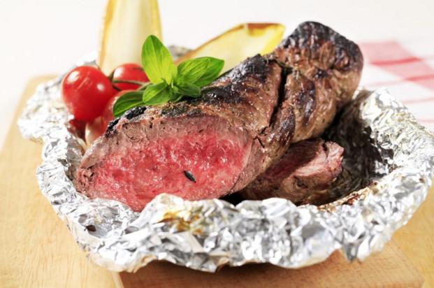 Мясо в фольге