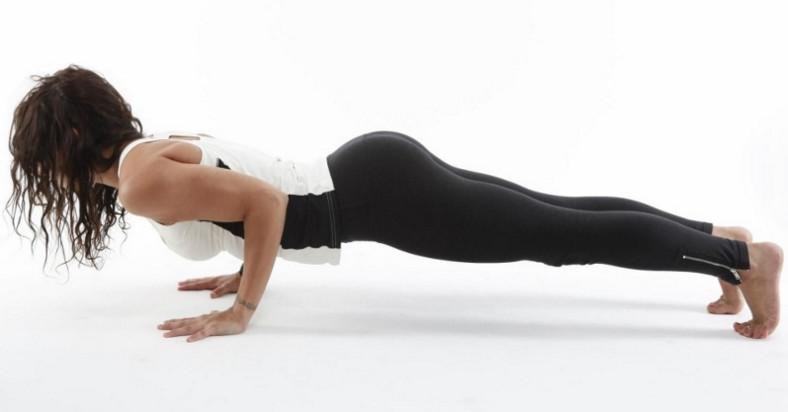 Отжимания для спины