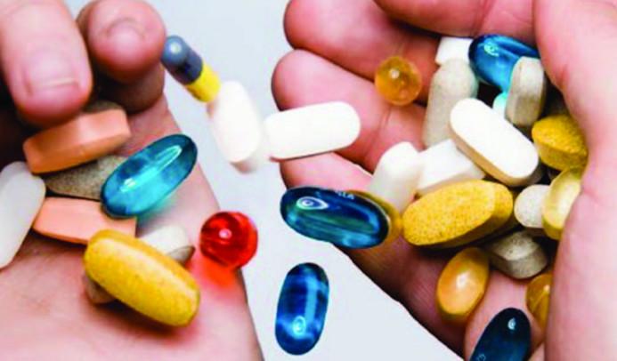 с антибиотиками