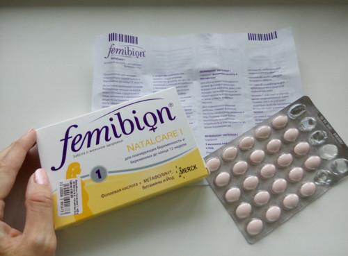 Витамины «Фемибион» инструкция