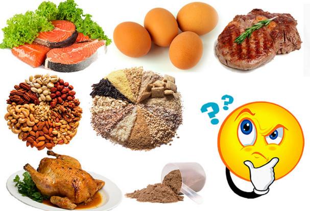 белки для набора массы