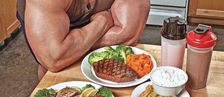 белок питание