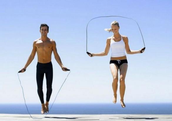 упражнение прыжки на скакалке