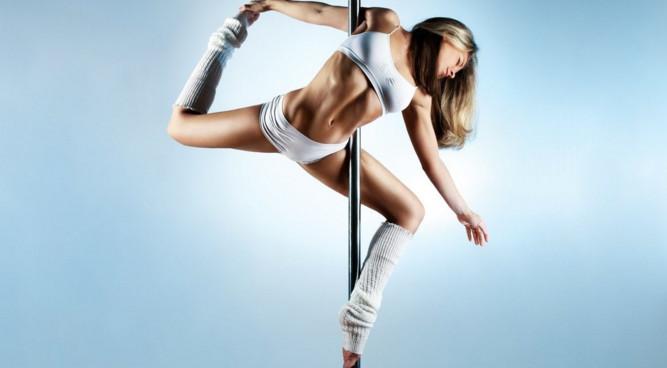pole dance тренировка