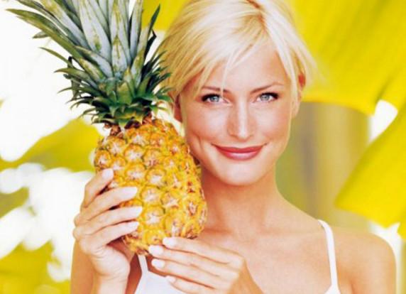 Польза ананаса для здоровья