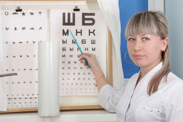 обеспечение четкости зрения