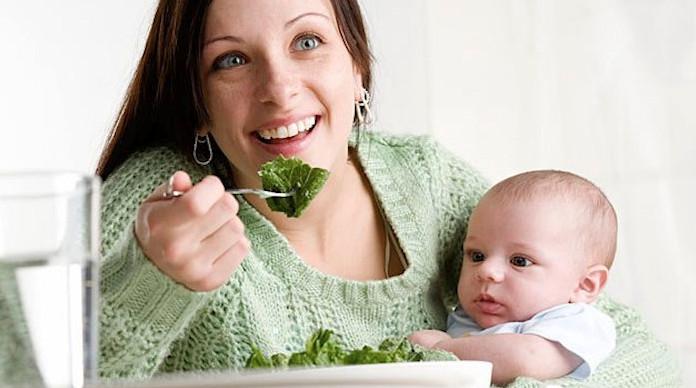 Витамины для мам в продуктах