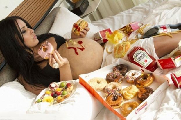 вредное питание для мам