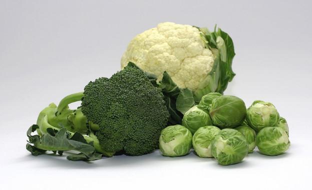Витамин K в овощах