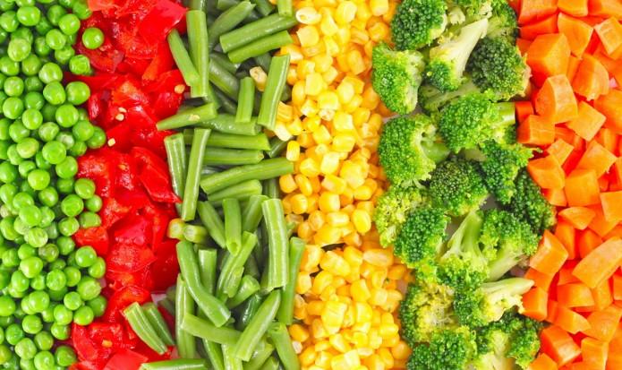 Правила приготовления овощей