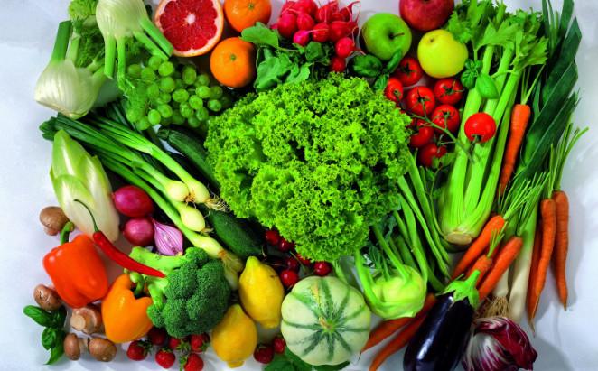 Витамин B в овощах