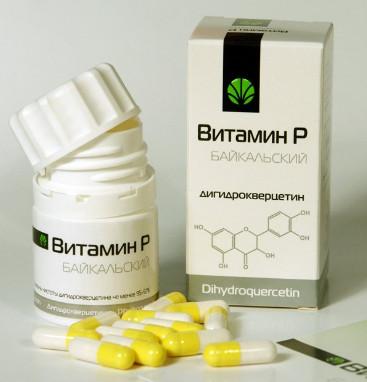Препараты с витамином P в таблетках