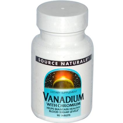 Витамины с ванадием